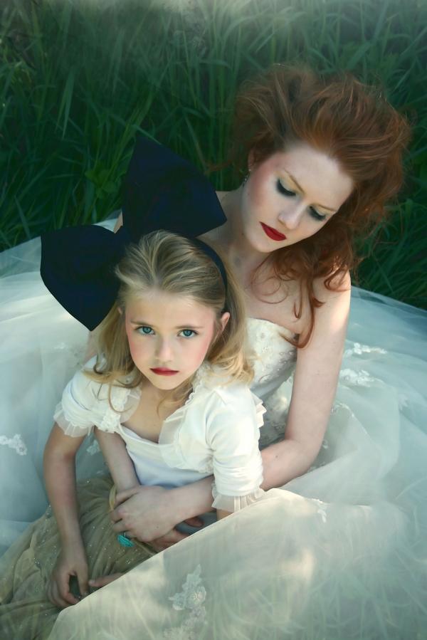 My back yard May 28, 2009 Models Bariah and Lisa, Bobbt Wilkins Photo, Magnolia Makeup