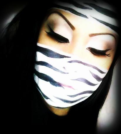 May 30, 2009 Zebra Makeup