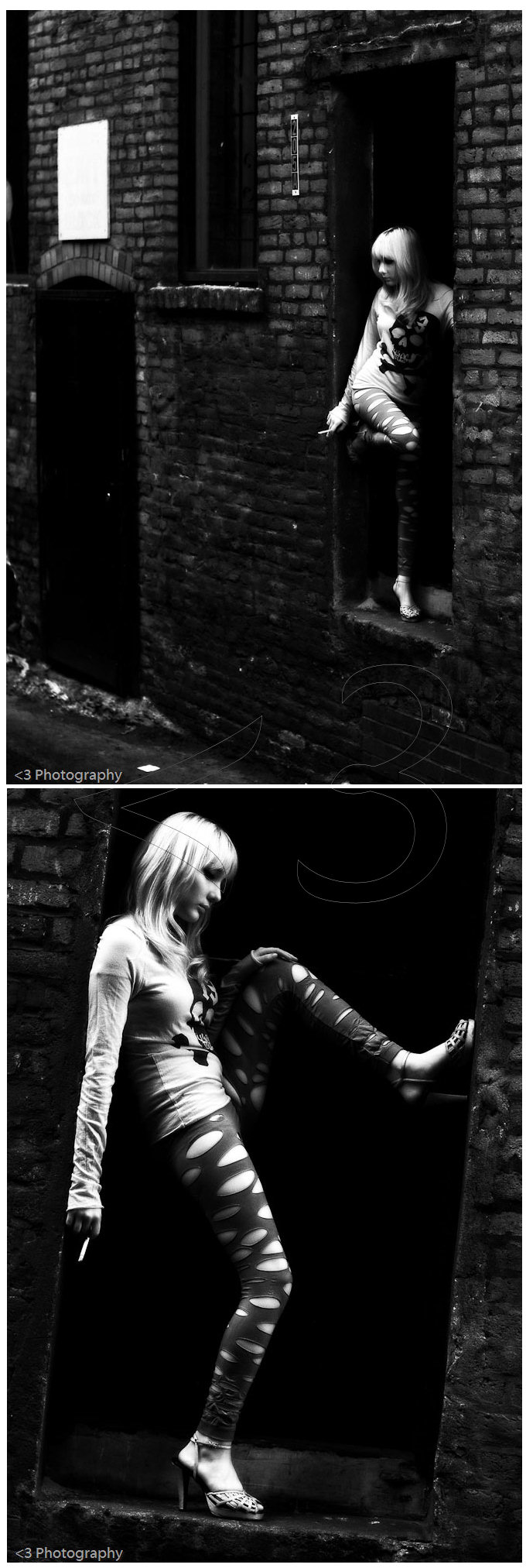 Male and Female model photo shoot of lessthan3 Photography and Viy in Seattle