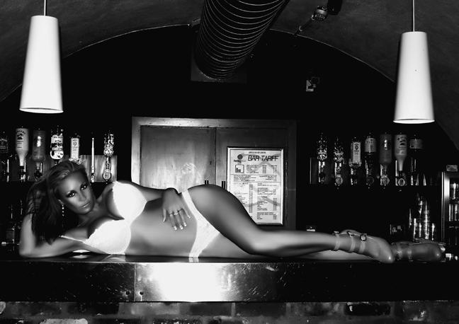 Female model photo shoot of chantelle laclaire in honey club brighton