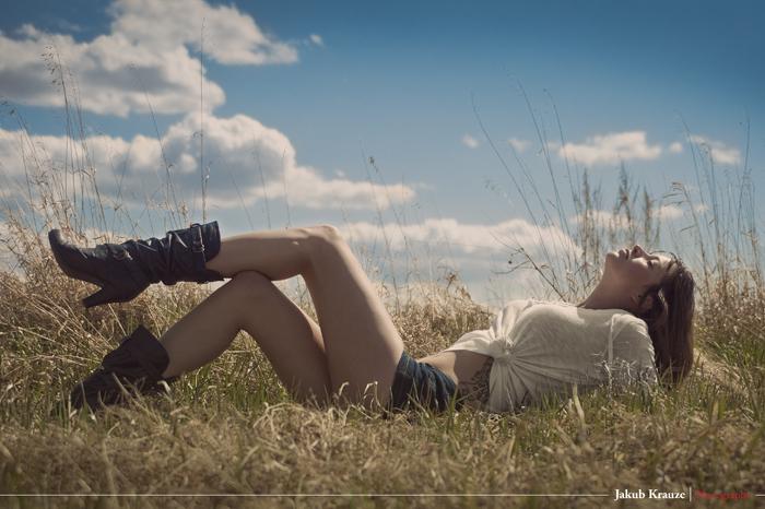 Male and Female model photo shoot of Kubowski and Zuri Star in Ponoka, AB