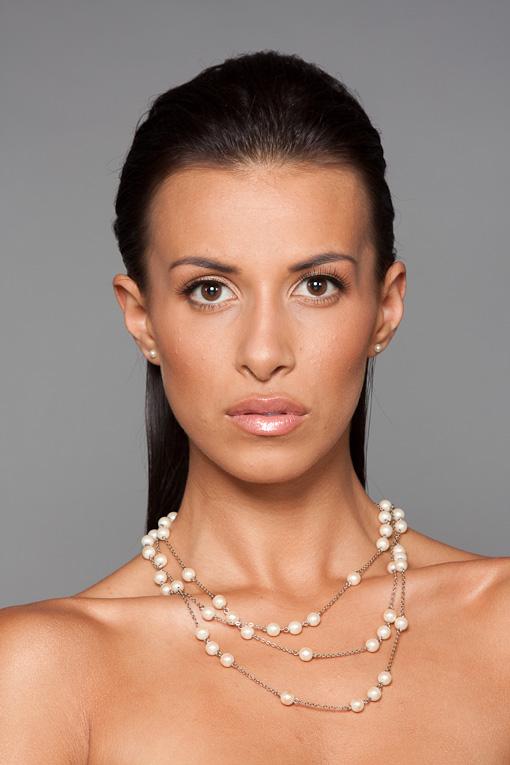 Female model photo shoot of lindangomakeup and Marie Cab
