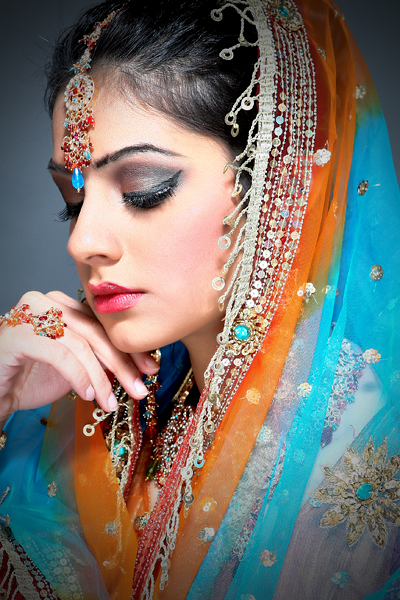 Glow Studio Toronto Jun 04, 2009 VSK Make Up South Asian Bridal Shoot (Model Kamal) Make Up by: Jina B.