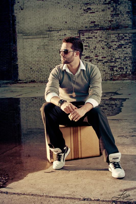 Male model photo shoot of Josh McCabe in Bloomington, Il