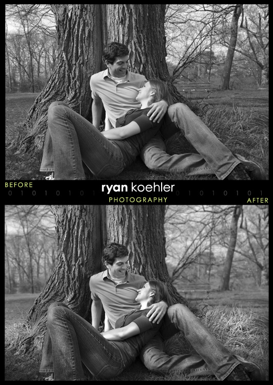 Rochester Park, MI Jun 05, 2009 Ryan Koehler Photography Carley & Andrew Engagement