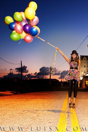 Female model photo shoot of Sugarface Cosmetics in Ybor City