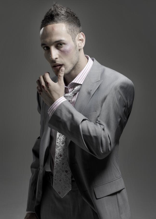 Male model photo shoot of Jacques G by Barry Jeffery in London, wardrobe styled by Kate Jeffery