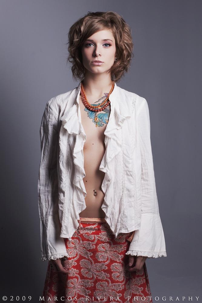 Brooklyn Studio, NY Jun 06, 2009 2009 Make-up&hair by model