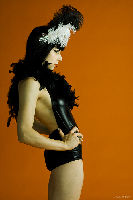 Female model photo shoot of Libby Bulloff and Fiona Minx in Starfish Studios, Seattle, WA