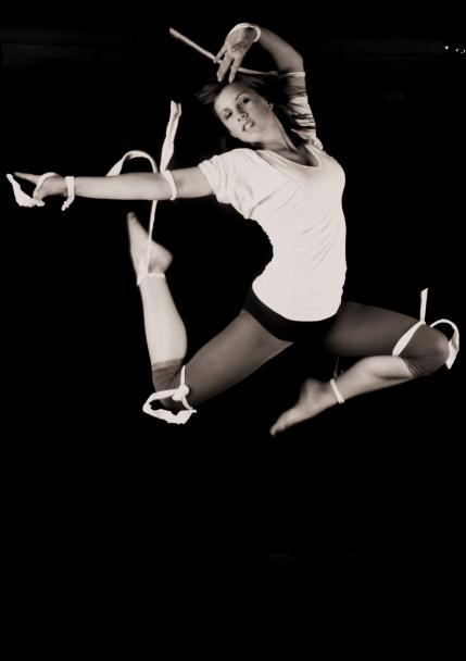 Male and Female model photo shoot of Primal Rhythms Photo and K-Lee Shagena in Half Fast Studio