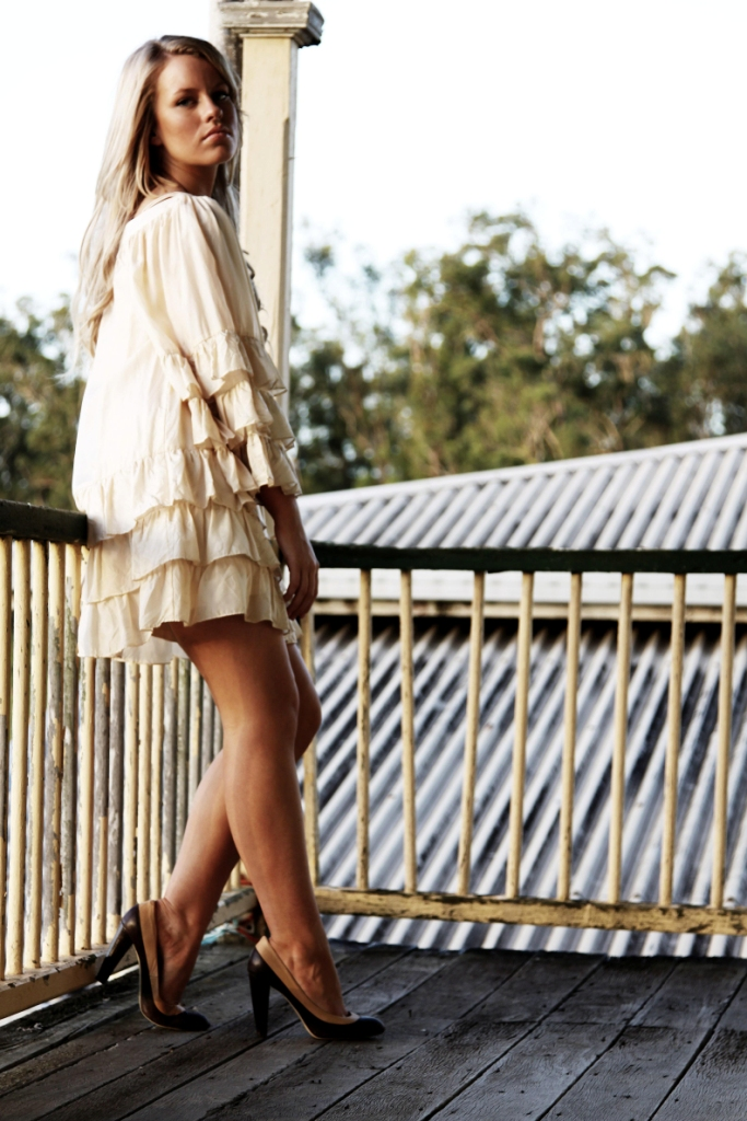 Yatala Jun 08, 2009 Troy Crossland A dress makes no sense unless it inspires men to want to take it off you.