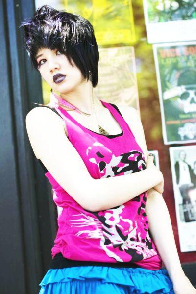 Female model photo shoot of J-RokK