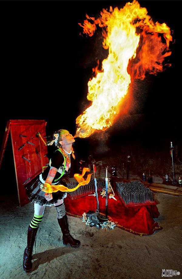 Las Vegas ,NV Jun 09, 2009 MKH dragon lady