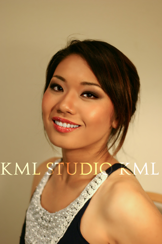 Female model photo shoot of KMLStudio Makeup Artist in Sacramento