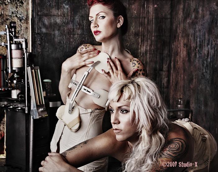 StudioKlinic7 Long Island NY Jun 10, 2009 Studio-X 2009 Sharon Tk & Dina De Sade Medical Brace Series