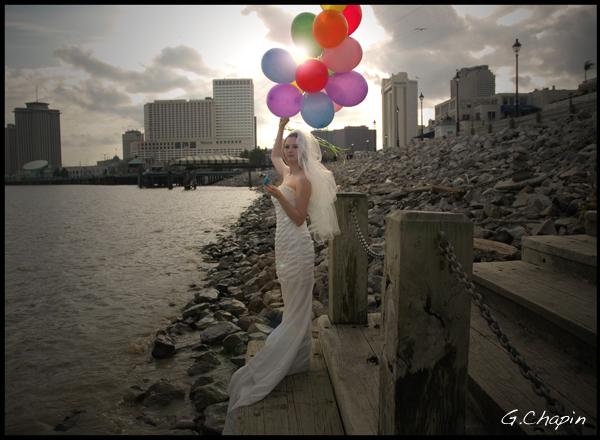 Female model photo shoot of G Chapin Studios in Riverwalk New Orleans