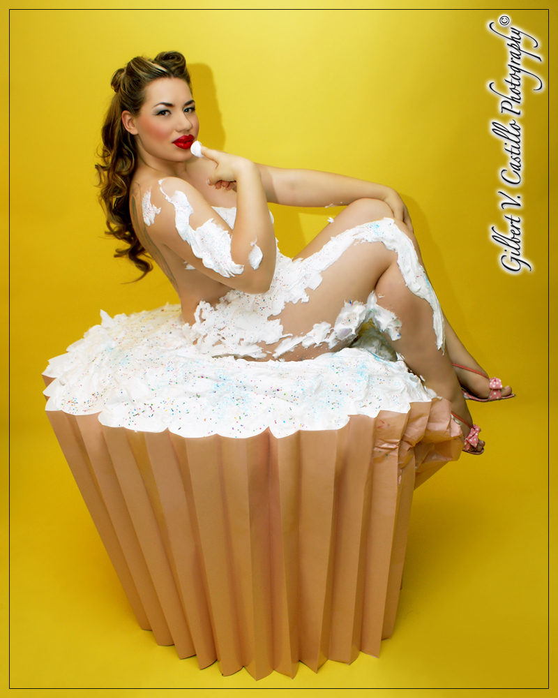 Fullerton, CA Jun 11, 2009 Hair and Make-Up by Me ;) Cupcake Pin-Up