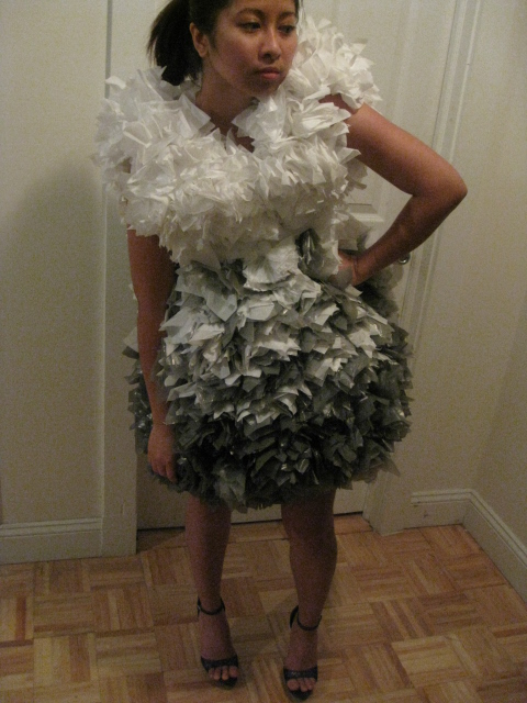 Jun 11, 2009 janfrevic (N/A) trashbag dress