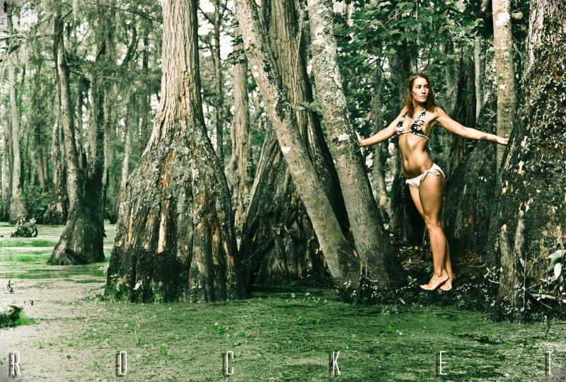 North Carolina Jun 14, 2009 2009 Johnny Rocket In a swamp....Shot with film.