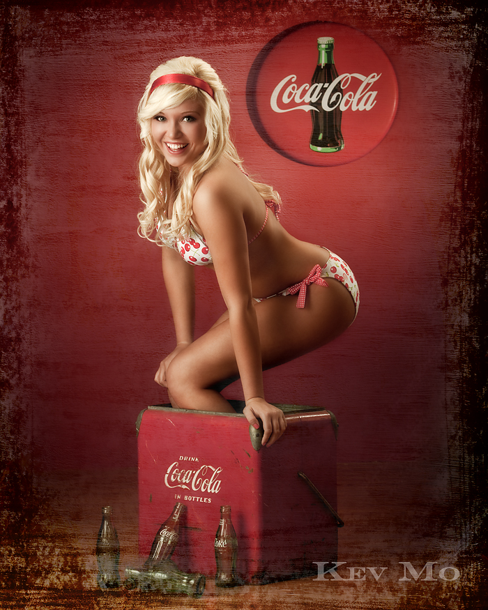 Bedford, Indiana Jun 15, 2009 Kev Mo (Hudsons Photography)  Coca Cola Pin-up