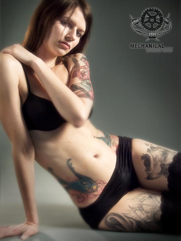 Female model photo shoot of nicolonoscopy by Mechanical Whispers in Brooklyn