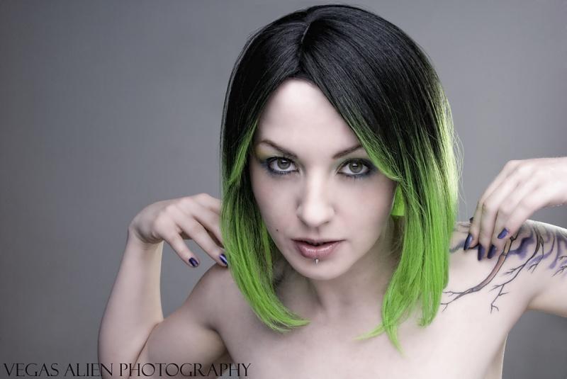 Female model photo shoot of Gashley Darcane by Vegas Alien