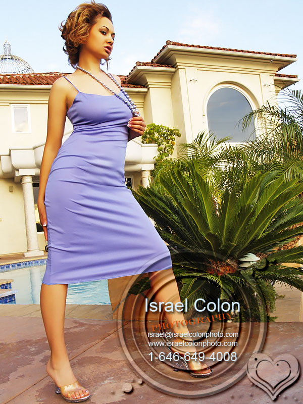 Female model photo shoot of Anya Mir in Casablanca Mansion