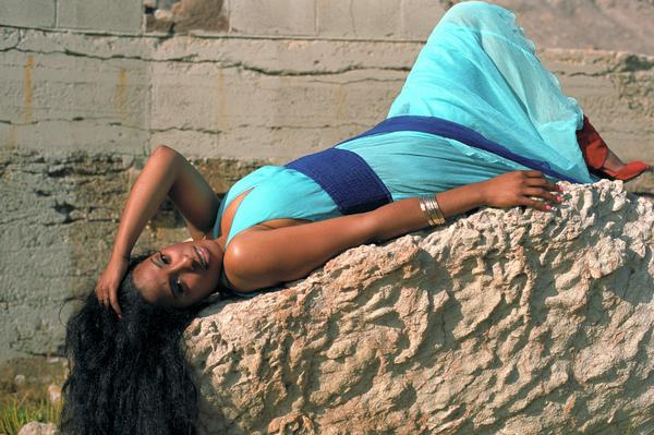 Female model photo shoot of Carmena Victoria in Sutro Baths