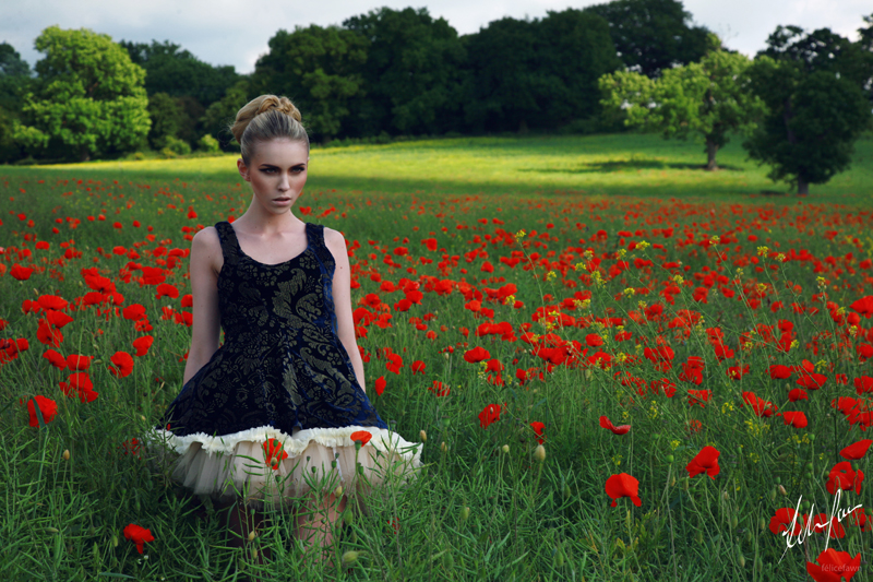 Female model photo shoot of Felice Fawn