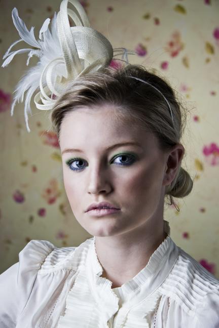 Female model photo shoot of Michelle Dollface by Britta Kokemor