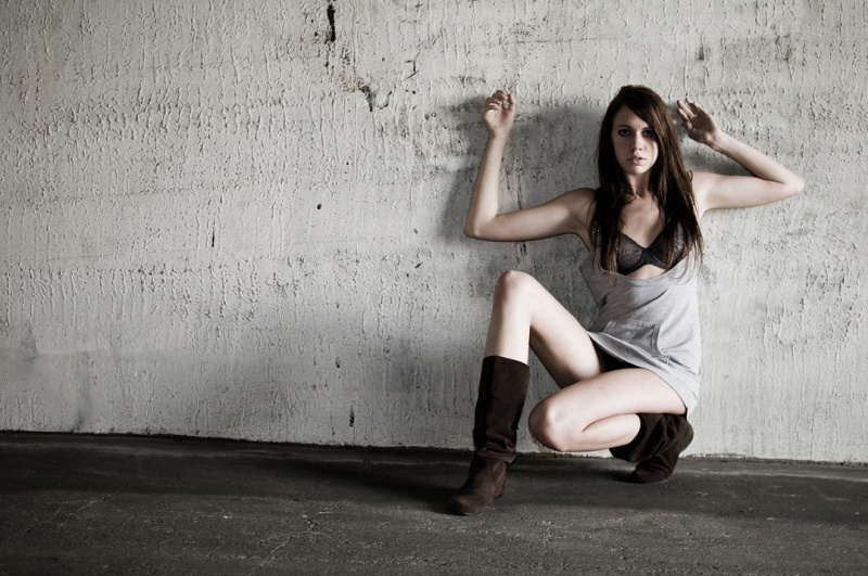 Female model photo shoot of  ame by JM-Photographics