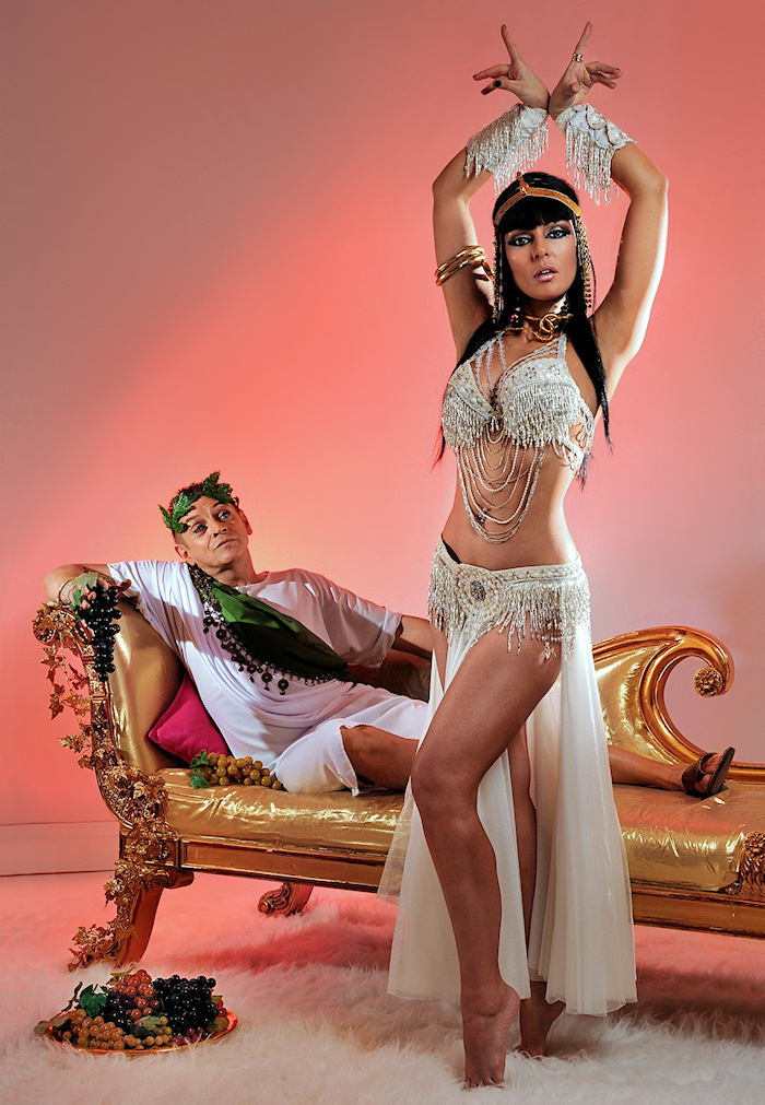 London Jun 25, 2009 (c) Richard Knightly Photography Cleopatra - Club flyer