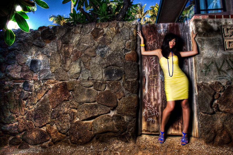 Female model photo shoot of Jessika Malic by Buckaloose Photography in Honolulu, HI