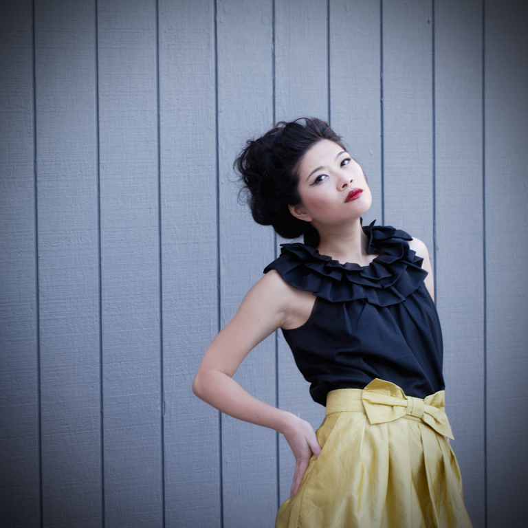 Female model photo shoot of Danielle Blanchet and Lydia Chen by Lydia Hudgens in San Francisco, hair styled by Laurel K