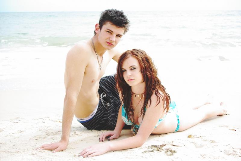 Female model photo shoot of Emma-may in Brighton beach Adelaide