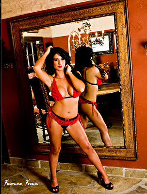 California Jun 27, 2009 Jasmine Jovan Dreamgirls Lingerie Photoshoot Winter 2008 Collection