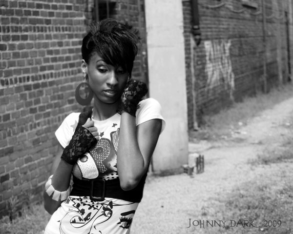 Male and Female model photo shoot of Johnny Dark and Chivon Heart in Columbia SC