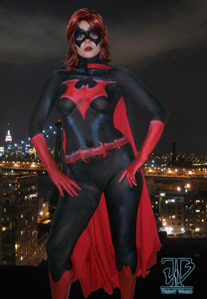 Jun 29, 2009 Tori-Batwoman paint