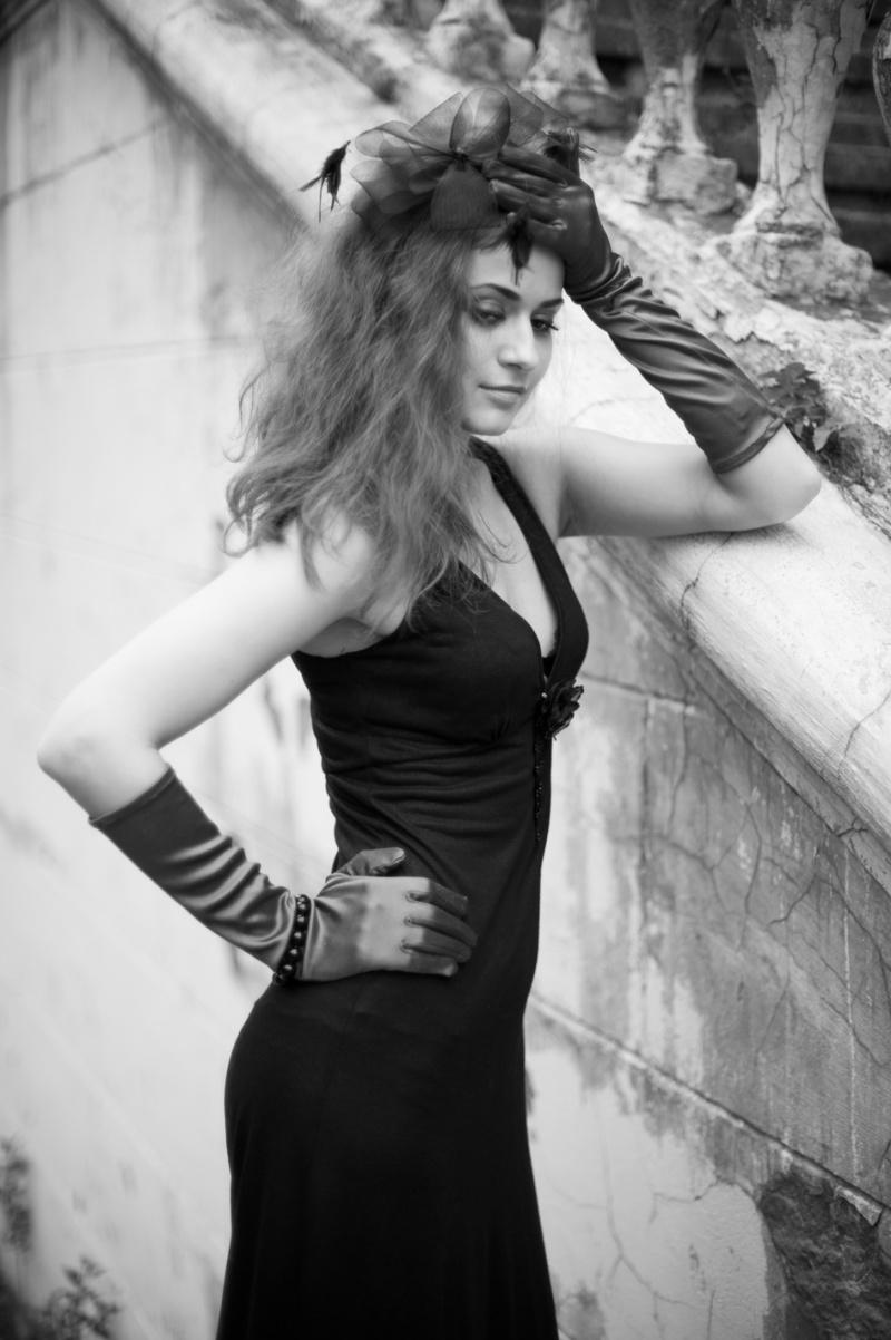 Female model photo shoot of Elena Olshvang in Moscow