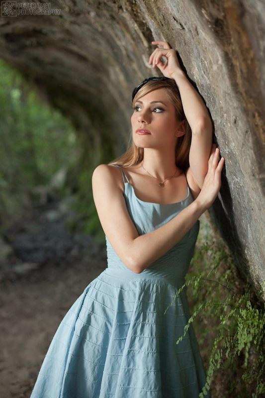 Female model photo shoot of Haley Lin by Peter Tsai Photography in Bull Creek