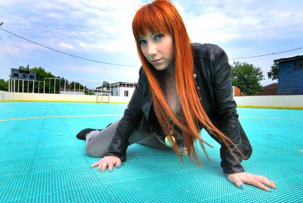 Female model photo shoot of Courtz C by LauraNikisher