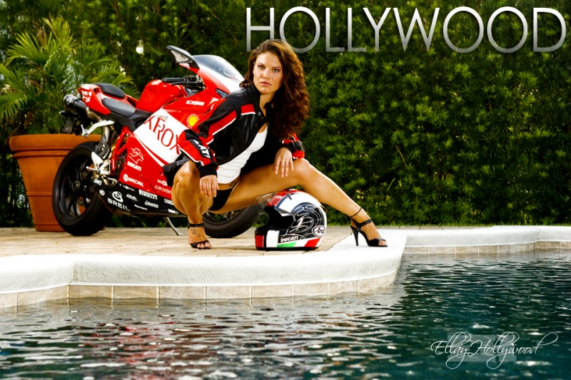 Orlando Jul 02, 2009 Ellay Hollywood Ducati Motorcycle