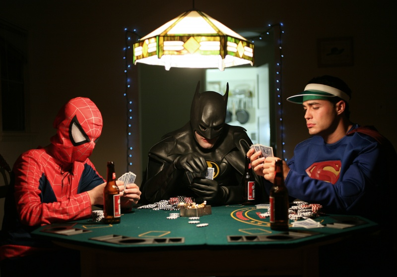 Jul 05, 2009 To see these superheroes play poker, go to: http://www.youtube.com/watch?v=vgF-Pwp1kNA