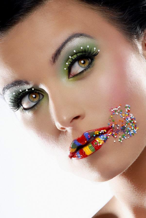 In Sudio Jul 07, 2009 Model:Nickee Branham Photography:Rachel Louise  Candy Sensation