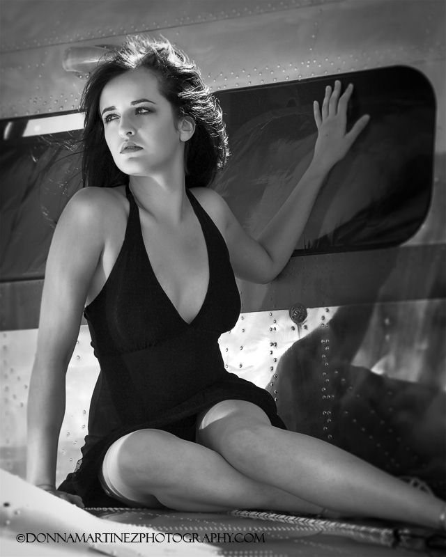Airfield in Falcon Jul 09, 2009 Donna Martinez Photography Pinup Style