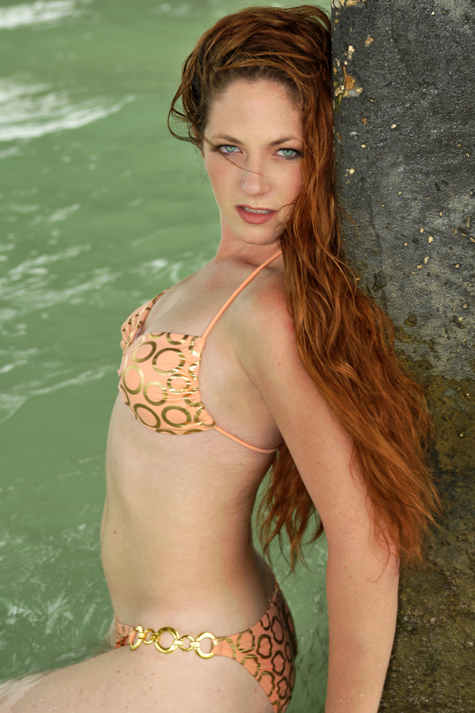 Female model photo shoot of Alexie Star in Clearwater Beach