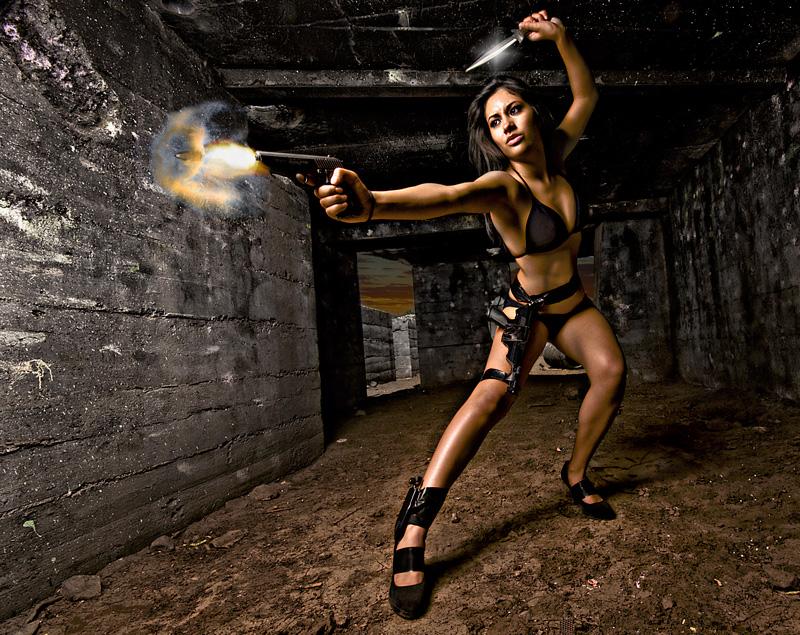 Video Game Reality Jul 12, 2009 © 2009 Marana Photography Marbz is Lara Croft