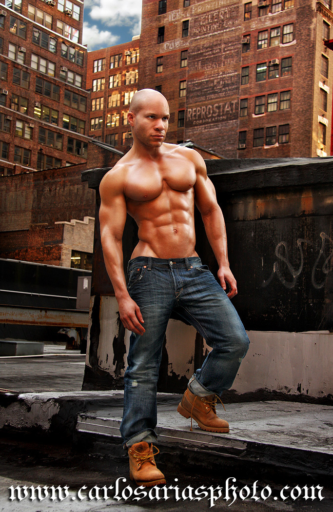 Male model photo shoot of IkeLove by Carlos Arias NYC in Hell's Kitchen, NYC