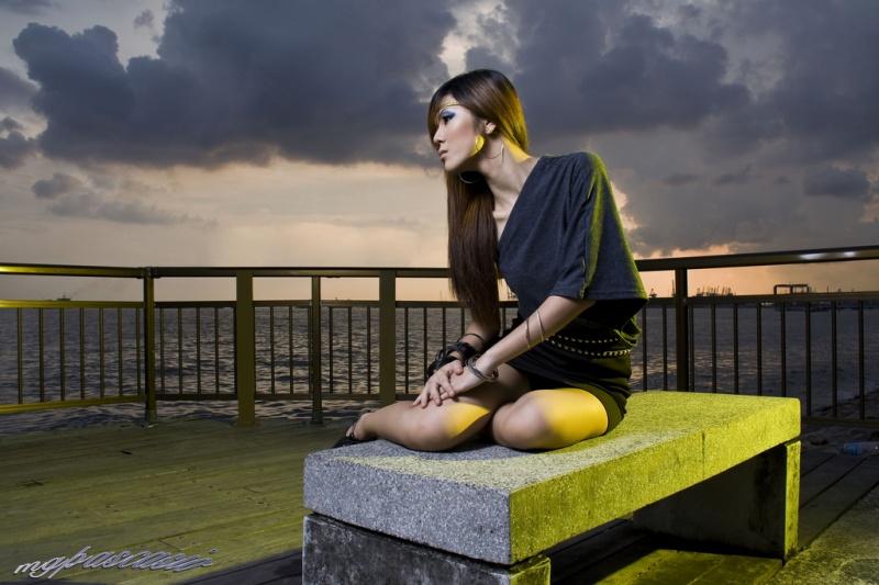 Singapore Jul 12, 2009 Sunset Drama