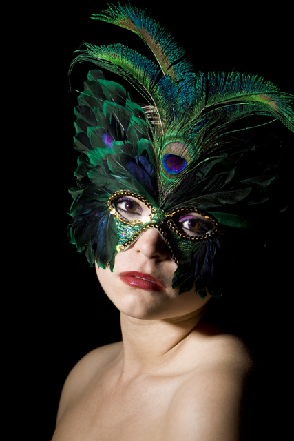 Northern Arizona University Jul 13, 2009 Quinn Kahus-Saccio Green Mardi Gras Mask
